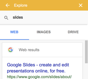 Explore search results for slides